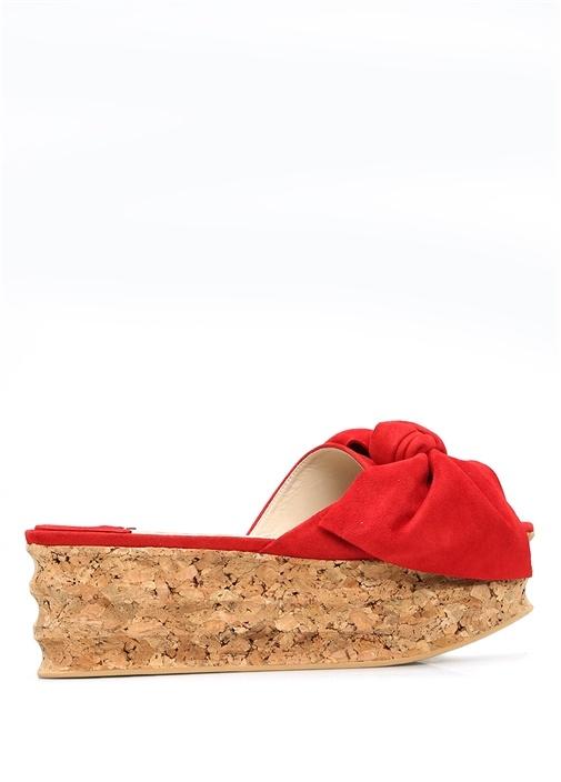 Paloma Barcelo Kırmızı KADIN  Kırmızı Isabelle Dolgu Topuklu Kadın Terlik 260740 Beymen
