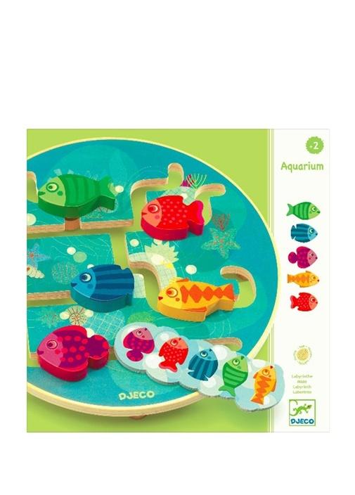 Aquarium Ahşap Unisex Çocuk Oyuncak Seti