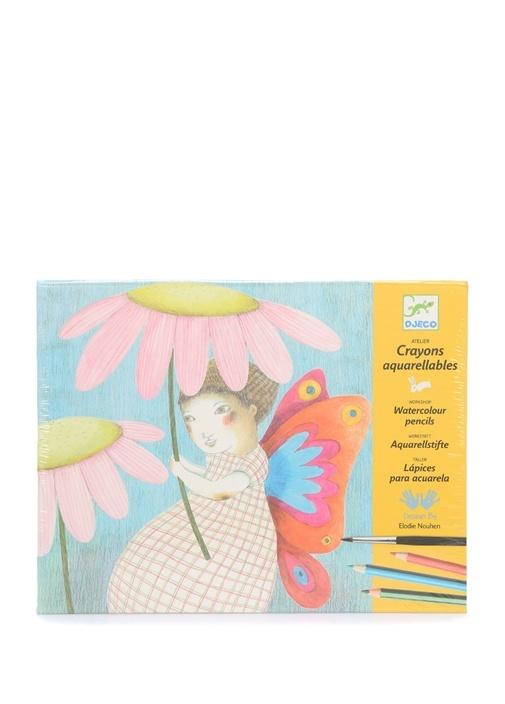 Crayons Aquarellables Unisex Çocuk BoyaSeti
