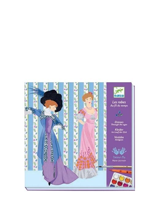 Dresses Throught The Ages Çocuk Sulu Boya Seti