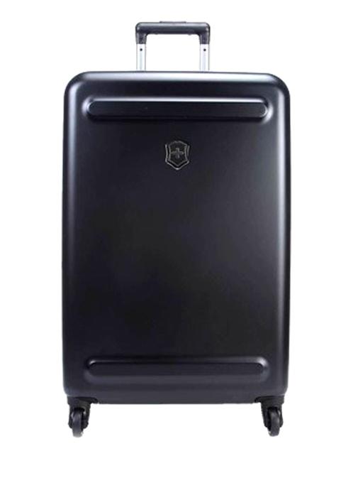 Etherius Siyah 78 Litre Büyük Boy Unisex Bavul