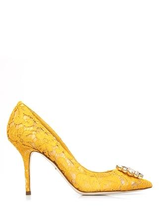 Dolce&Gabbana Kadın he Rainbow Lace Pembe aşlı opuklu Ayakkabı Sarı 39.5 R Ürün Resmi