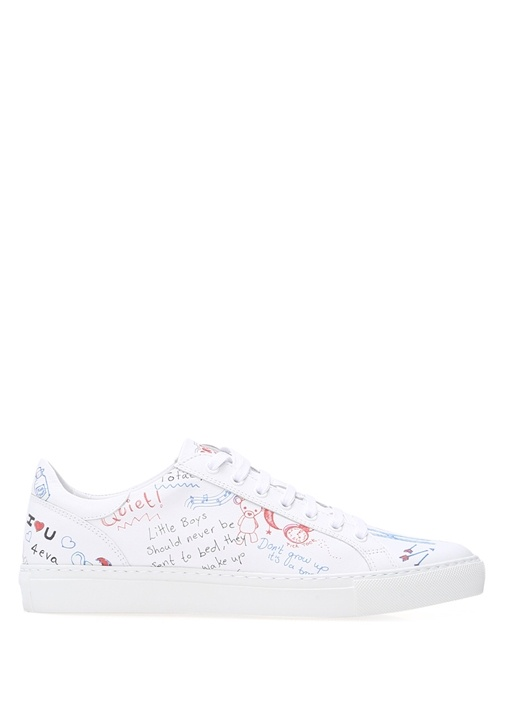 Mira Mikati Beyaz KADIN  Beyaz Deri Kadın Sneaker 252015 Beymen