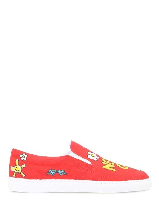 Mira Mikati Kırmızı KADIN  Kırmızı Deri Kadın Sneaker 251640 Beymen