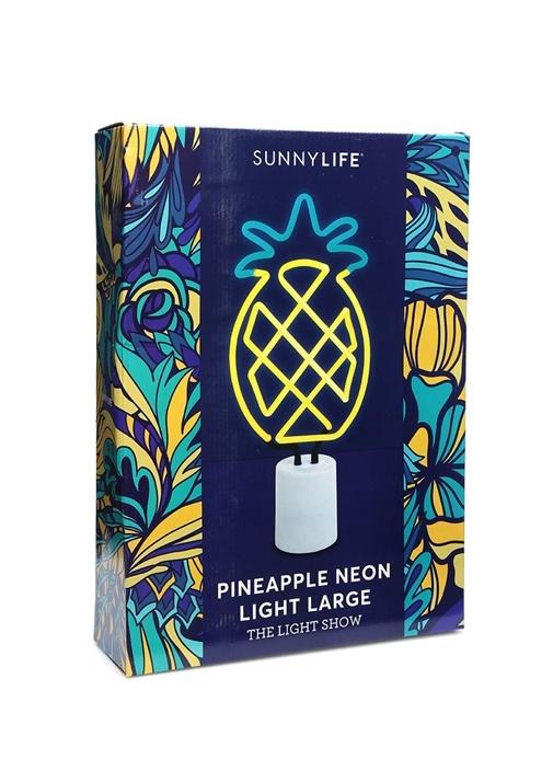 Large Ananas Formlu Neon Işıklı Lamba