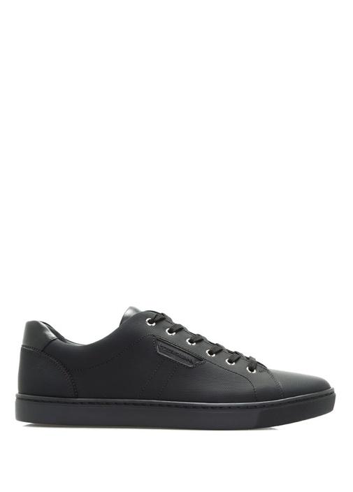 Dolce&Gabbana Siyah ERKEK  London Deri Siyah Erkek Sneaker 317792 Beymen