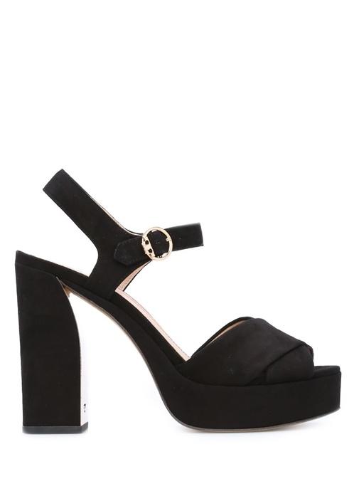 Tory Burch Siyah KADIN  Siyah Loretta Platform Topuklu Kadın Sandalet 320157 Beymen