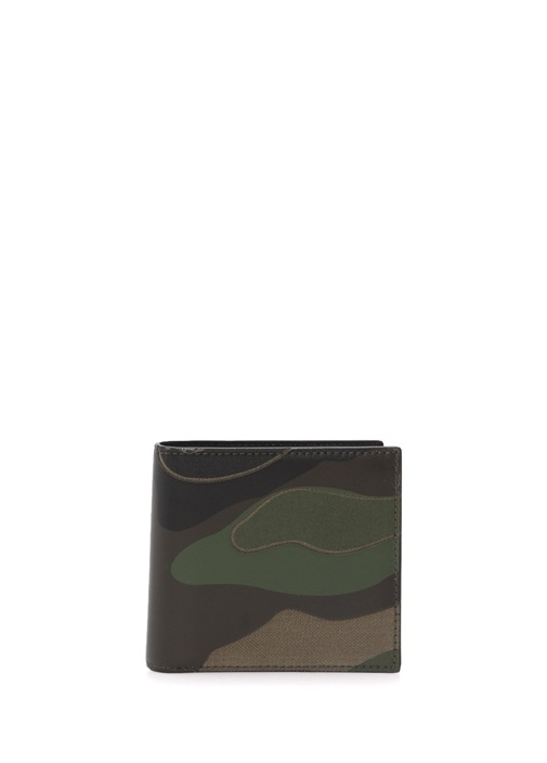 Valentino Garavani Camouflage Cüzdan