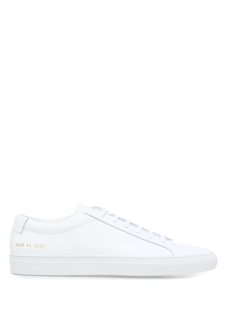Common Projects Achilles Low Top Deri Beyaz Erkek Sneaker
