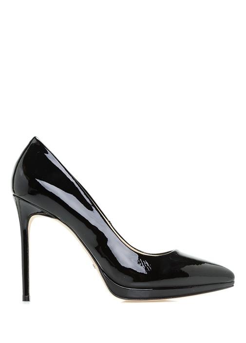 Beymen Collection Siyah KADIN  Siyah Rugan Topuklu Ayakkabı 318057 Beymen