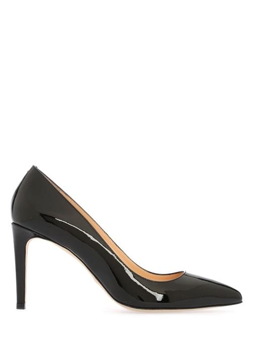 Beymen Collection Siyah KADIN  Siyah Rugan Topuklu Ayakkabı 318308 Beymen