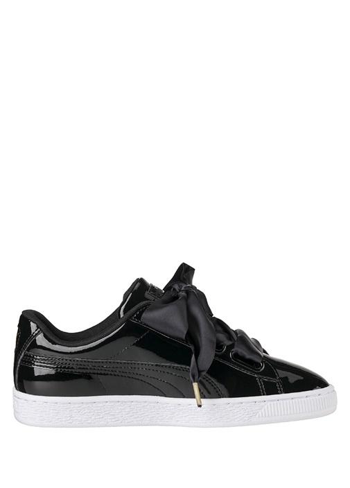 Puma Siyah KADIN  Basket Heart Patent Siyah Kadın Sneaker 327198 Beymen