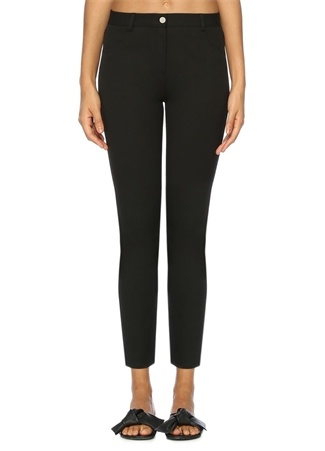 Beymen Club Kadın Siyah Skinny 5 Cepli Pantolon 36