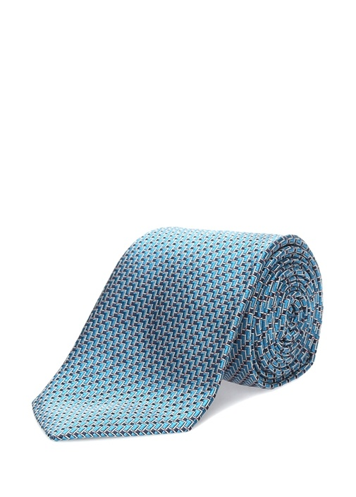 Mavi İpek Kravat