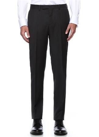 Antrasit Klasik İnce Yünlü Pantolon