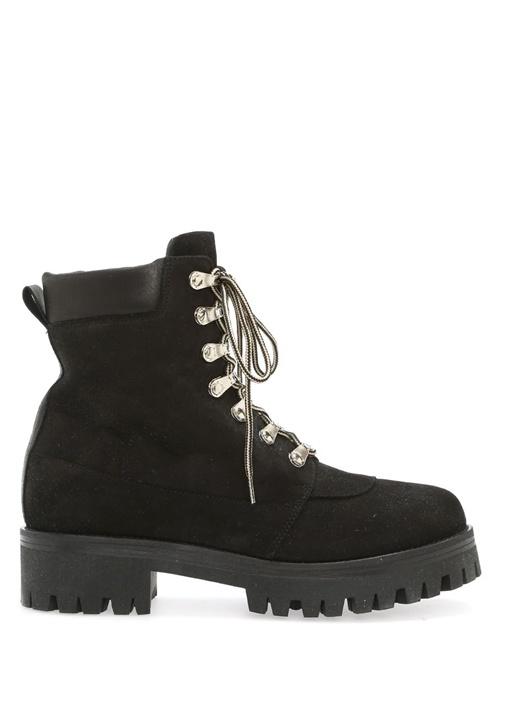 Nude of Scandinavia Siyah KADIN  Siyah Deri Kadın Sneaker 343961 Beymen