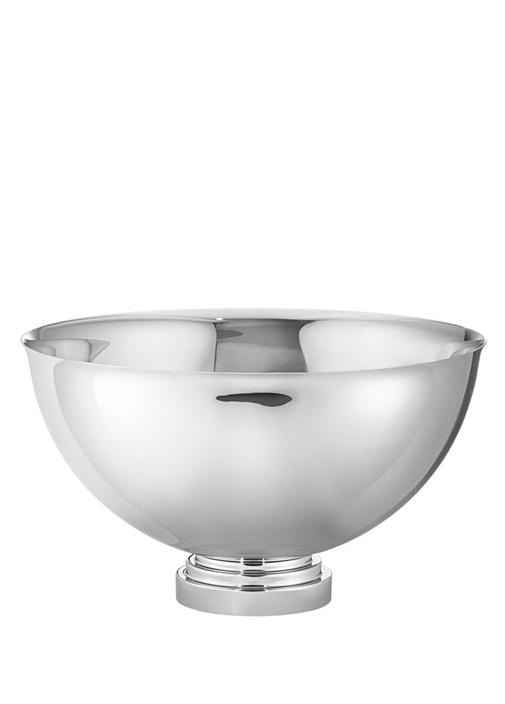 Manhattan Silver Yuvarlak Formlu Çelik Buz Kovası