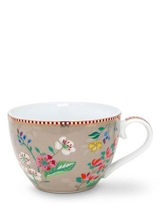 Pip Studio Floral Kirazlı Haki Cup Standart