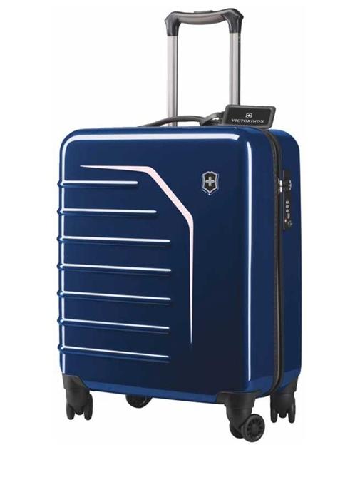 Spectra Extra Capacity Mavi Kabin Boy Erkek Bavul
