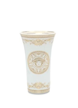Versace Medusa Gala Beyaz Gold 26 cm Porselen Vazo