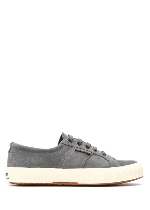 Gri Deri Sneakers