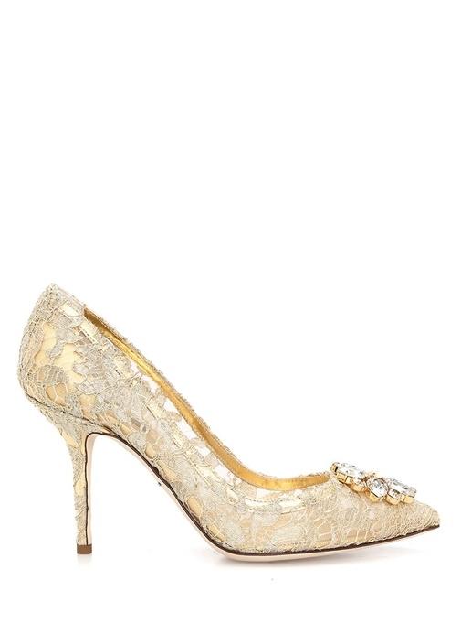 Dolce&Gabbana Gold KADIN  PUMP 336109 Beymen