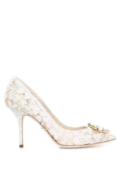 Dolce&Gabbana Beyaz KADIN  PUMP 336110 Beymen