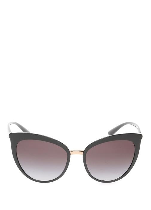 Siyah Cat Eye Formlu Kadın Güneş Gözlüğü