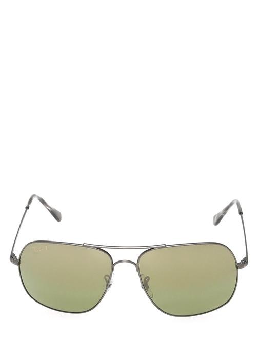 Haki Logolu Erkek Güneş Gözlüğü