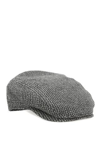 Lacivert Yün Şapka