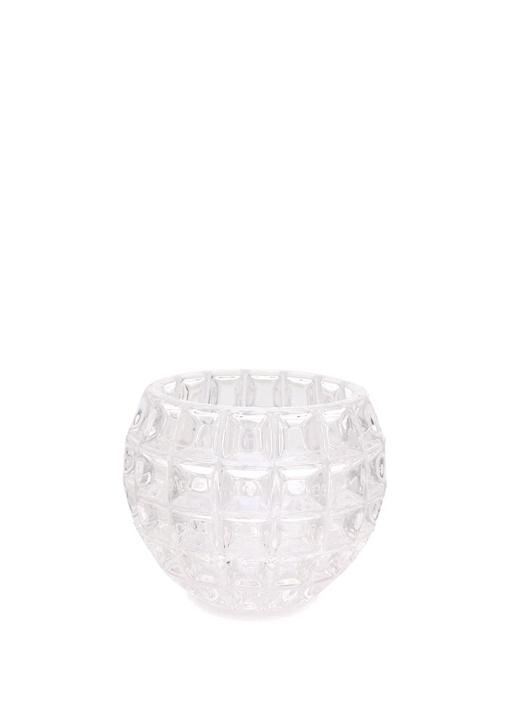 Crystal Top Vazo Mumluk