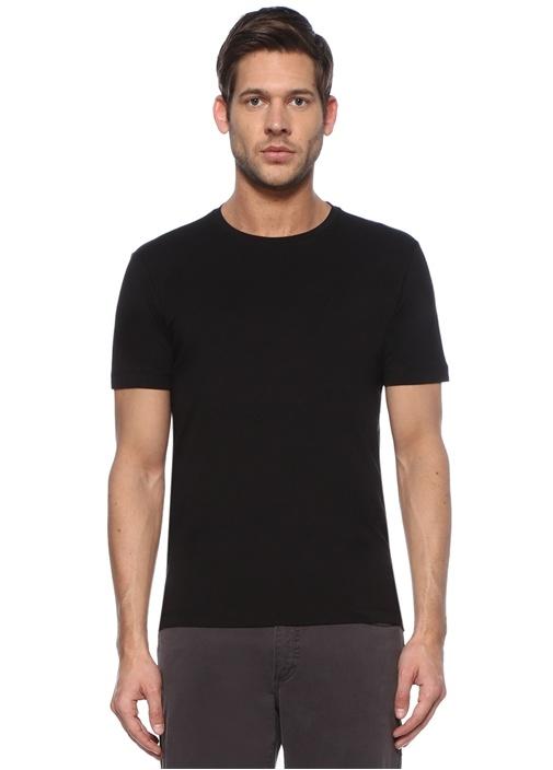 Siyah Flamlı T-shirt