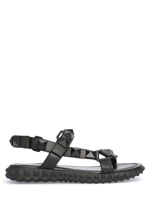 Valentino Siyah ERKEK  Valentino Garavani Rockstud Sandalet 390278 Beymen