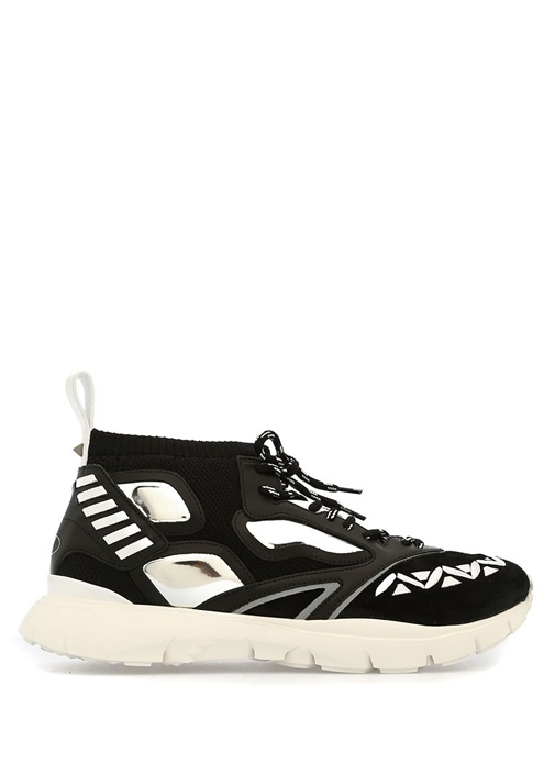 Valentino Siyah-Beyaz ERKEK  SNEAKERS 499367 Beymen