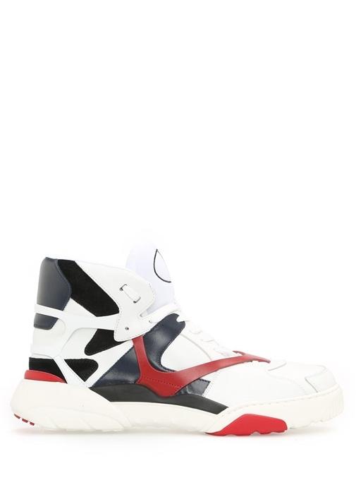 Valentino Kırmızı-Beyaz ERKEK  Made One Kırmızı Beyaz Deri Erkek Sneaker 467228 Beymen