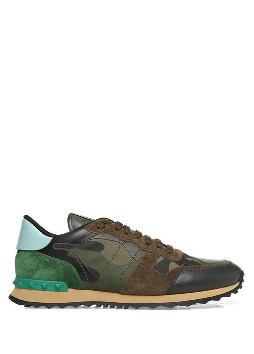 Valentino Garavani Camouflage Erkek Sneaker