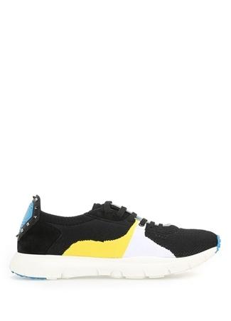 Sound Low Siyah Deri Erkek Sneaker