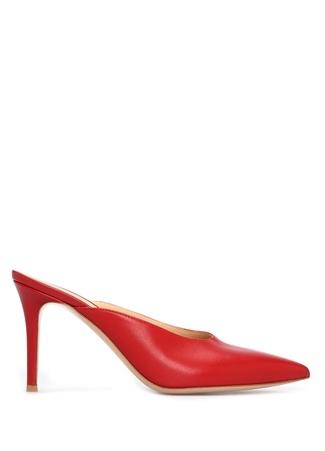 Gianvito Rossi Kadın TERLİK Kırmızı 38.5 TR