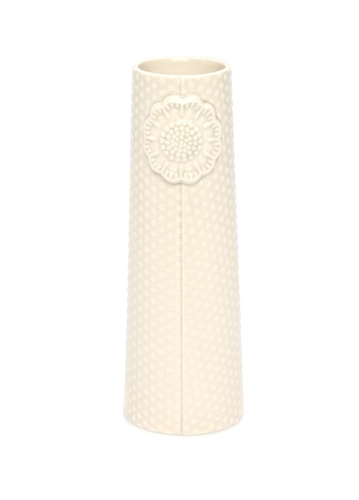 Pipanella Dot Small Gri Porselen Vazo