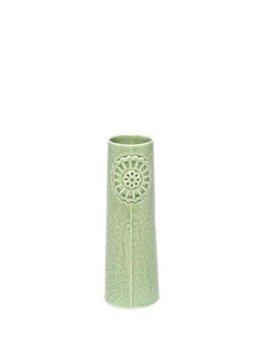Pipanella Flower Small Yeşil Porselen Vazo