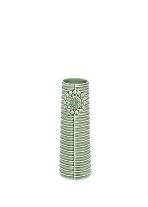 Pipanella Lines Small Yeşil Porselen Vazo