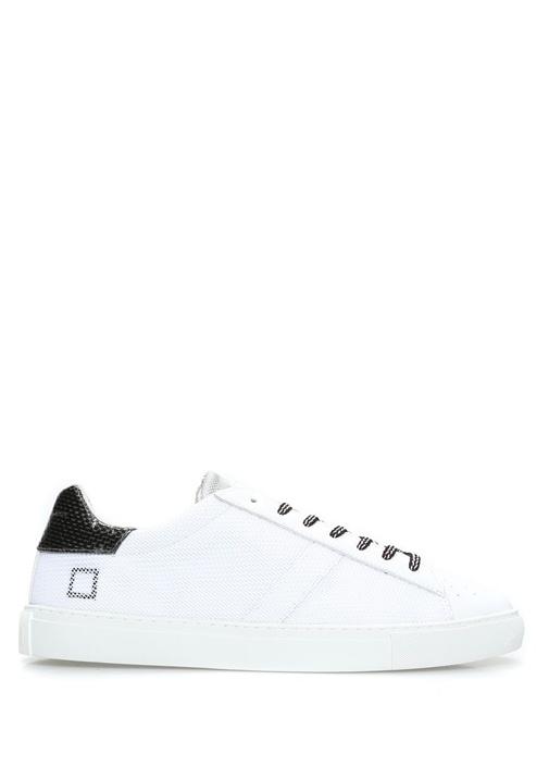 D.A.T.E. Beyaz ERKEK  Newman Hi Tech Beyaz Deri Erkek Sneaker 471613 Beymen