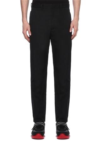 Siyah 5 Adet Cepli Kanvas Pantolon