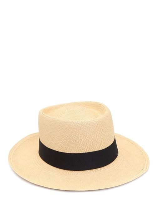 Dumont Kadın Hasır Şapka
