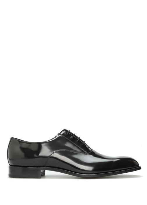 Siyah Deri Smokin Ayakkabısı