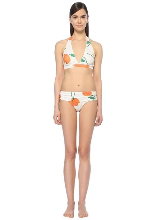 Silverton Beyaz Çiçekli Bikini Takım