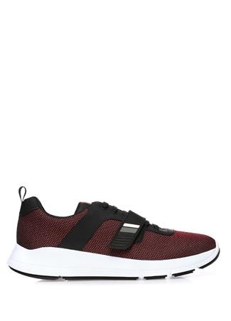 Prada Sport Erkek Siyah Bordo Sneaker Kırmızı 11.5 UK