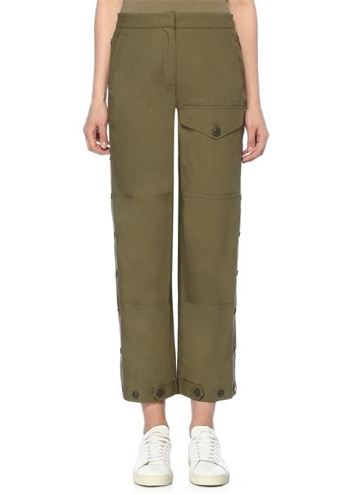 Marion Yüksek Bel Yanı Çıtçıtlı Pantolon