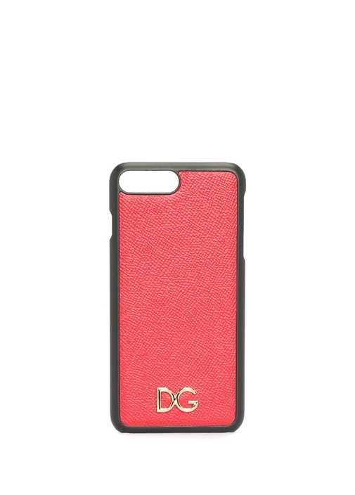 Kırmızı Yazı Patchli iPhone X Telefon Kılıfı