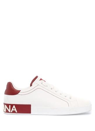 Portofino Beyaz Bordo Erkek Sneaker